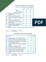 Form Audit Kepatuhan Cuci Tangan