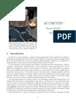 AC Circuits Lab Manual