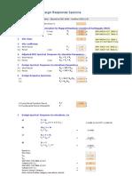 Seismic Parameters - Factored Load Ev