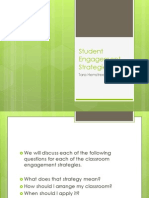 student engagement strategies for weebly