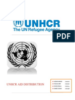UNHCR Project Report