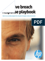 HP - Executive Breach Incident Response Playbook