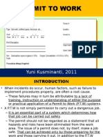 Permit to Work 2011