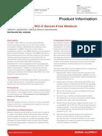 EX-CELL® EBx® PRO-II Serum-Free Medium without L-glutamine, without sodium bicarbonate