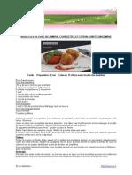 Boulettes Porc Citron Gingembre