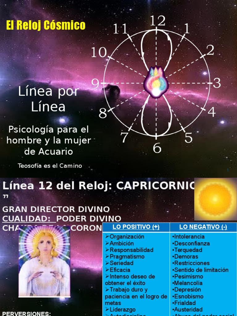 Reloj El Cosmico Por Cosmico Reloj Por El El Linea Linea kPZOXiu