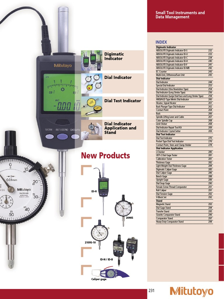 UAUS 1 HIGH Precision Dial Indicator .001 AGD 2 Graduation Lug Back New