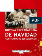 Novena Preparatoria de Navidad Con Benedicto XVI