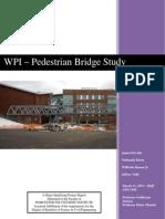 WPI - Pedestrian Bridge Study