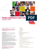 Global Agewatch Index 2015 Insight Report