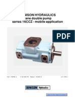 Denison Double Pump T6CCZ Eng