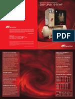 Catálogo compressores 10 e 15hp Ingersoll Rand