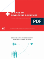 In Case of Developing E-services