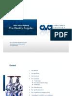 AVA-Alms Valve Agency Info Sheet (2013)
