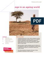 Climate change in an ageing world