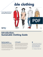 WRAP Sustainable Clothing Guide