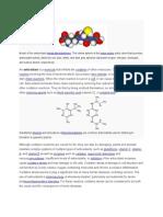 Model of the Antioxidant