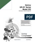 Part List Quincy QR25 Model325 2000