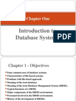 Chapter 1 database introduction