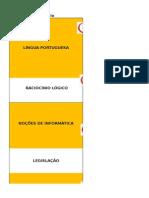 Planilha_Cronograma de Estudos para o concurso CFP