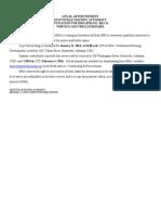 IFB 2015-14 Portico and Trellis Repairs-ADVERTISEMENT