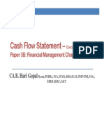Cash Flow Statement Conceptsa