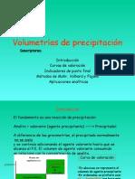 volumetrias de precipitacion
