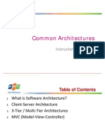 Day2 Common Architectures