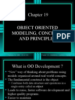 Object Oriented Modeling Concepts and Principles