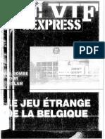 Le Vif - 1987 - 1988 - Bombe Islamique