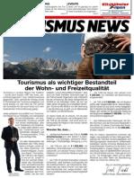 Tourismus News - 1. Ausgabe - Sommer 2014