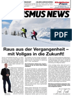 Tourismus News - 2. Ausgabe - Winter 2014/15
