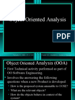 Object Oriented Analysis
