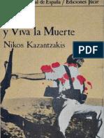 Espana y Viva La Muerte - Nikos Kazantzakis