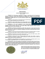 Governor Wolf Proclamation -- Elder Abuse Awareness Day, 2015