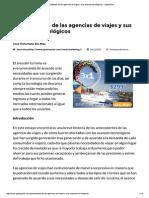 Antecedentes de Las Agencias de Viajes y Sus Avances Tecnológicos • GestioPolis