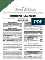 Normas Legales, lunes 14 de diciembre del 2015