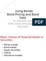 Bond Pricing and Bond Yield New -1