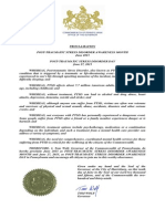 Governor Wolf Proclamation -- Post-Traumatic Stress Disorder Awareness Month, 2015