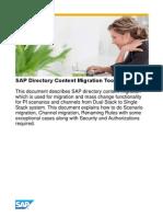 SAP Directory Content Migration Tool