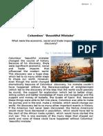 Humanities Essay - Columbus