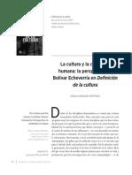 """Pablo Andrade, """"La perspectiva de Bolívar Echeverría en Definición de la cultura"""""""
