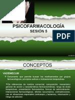 SESIÓN 5 FARMACOLOGÍA