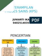 Keterampilan Proses Sains (Kps)