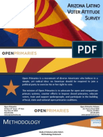 Arizona Latino Voter Attitude Survey