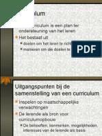 Curriculumdifferentiatie  powerpointpresentatie