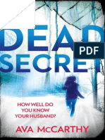 Dead Secret by Ava McCarthy - Extract