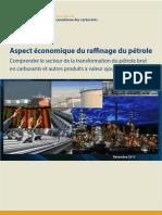 #Aspect Économique Du Raffinage Du Pétrole