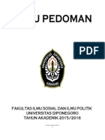 Buku Pedoman Fisip Undip 2015 1 Prelim