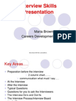 2 Interview Skills Presentation